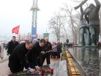 В Феодосии состоялись памятные мероприятия, посвященные десанту 1941 года